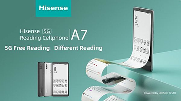 Dab the Perfume of Books and Fragrance of Ink on the 5G Era with Hisense A7