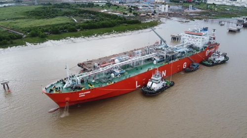 CNTIC VPower imports LNG to Myanmar.