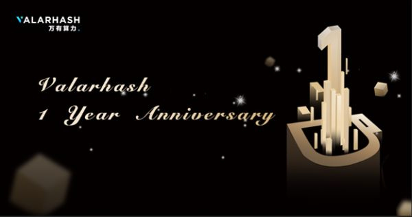 Valarhash Announces First Anniversary with Annual Highlights