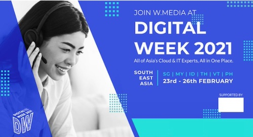 Launch of Digital Week 2021: Southeast Asia