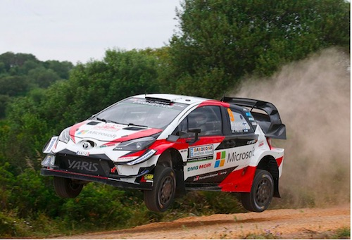 Rally Finland Preview Toyota Yaris Wrc Trio Ready For Flat Out