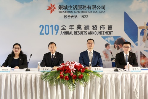 Yincheng Life Service Announced 2019 Annual Results