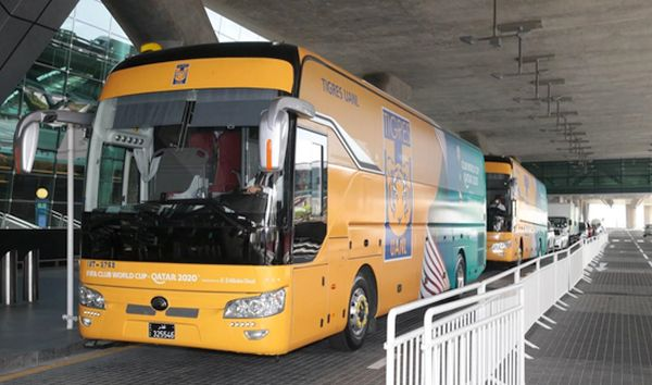 Yutong Bus to serve FIFA Club World Cup Qatar 2020
