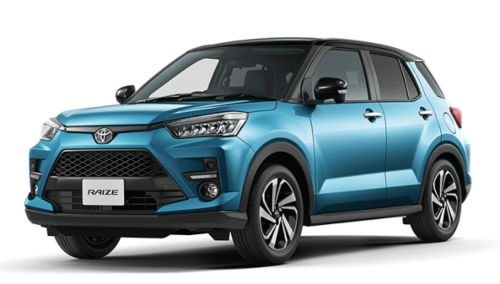 "Toyota Launches the New ""Raize"" in Japan"