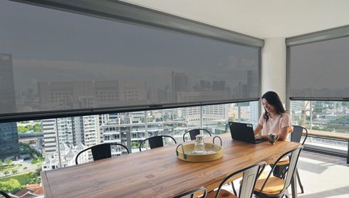 Ziptrak Original Track-Guided Blinds System Resolves Top Pain Points for over 4,500 Singaporean Homes and Businesses