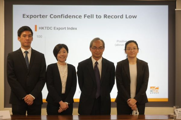 HKTDC Export Index 1Q20: Exporter confidence hits record low amid COVID-19 outbreak
