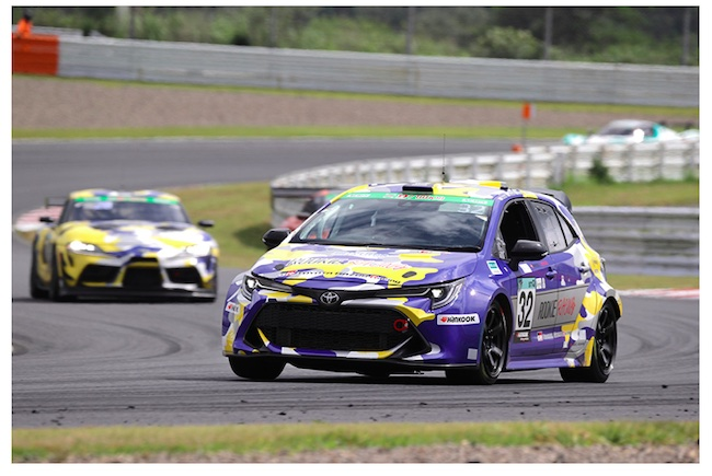 Hydrogen-powered Engine Corolla Takes on the Challenge of Transporting Imported Hydrogen at Super Taikyu Series 2021 Suzuka S-tai