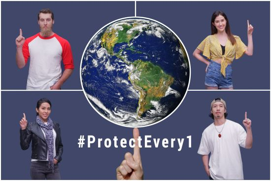 "Taiwan foundations call for worldwide solidarity amid pandemic in ""Protect Every1"" video"