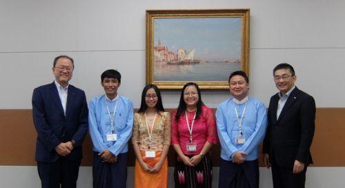 KDDI Brings Japan Telecom Technology to Myanmar