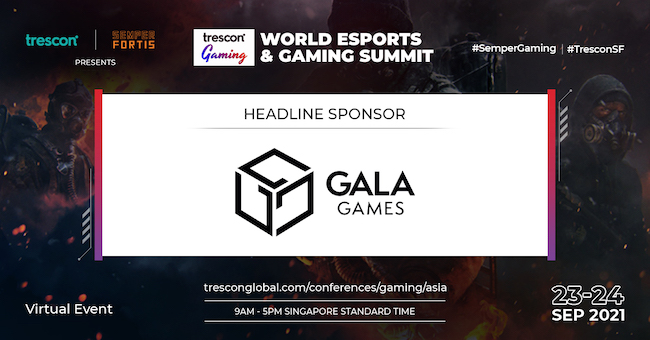 Gala Games Joins World Esports and Gaming Summit - Asia as Headline Sponsor