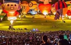 Taiwan International Balloon Festival lifts off from Luye Highlands