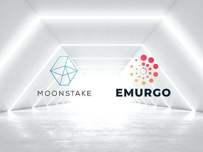 Moonstake partners EMURGO, founding member of Cardano Protocol
