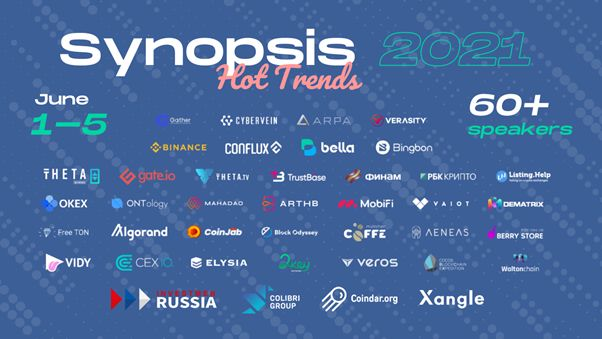 Synopsis 2021: Hot Trends - Join the Summit 1-5 June