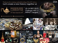 To Revive the Glittering Success - See You at the 64th Bangkok Gems & Jewelry Fair 2019 (BGJF)