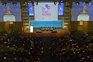 """Hong Kong, Oct 30 - """"Think Asia, Think Hong Kong,"""" the largest Hong Kong promotion ever to take place in France and Italy, ended with the symposium in Milan today. Major events of the promotion attracted more than 2,300 French and Italian business leaders and government representatives."""