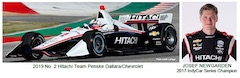 Hitachi Continues Partnership with Team Penske in 2019