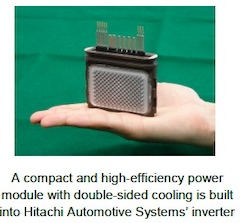 Hitachi Automotive Systems' EV Inverter Adopted for the e-tron, Audi's First Mass Production Electric Vehicle