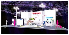 Overview of Honda Exhibit at CEATEC JAPAN 2017