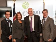 Ingredion Hosts Gov. Quinn and Local Officials at Bedford Park Ribbon-cutting; Plant Expansion Represents On-going Local Investments