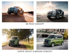 World Premieres of MITSUBISHI MOTORS MI-TECH CONCEPT Buggy-Type Electrified SUV Concept Car and SUPER HEIGHT K-WAGON CONCEPT Kei Car at Tokyo Motor Show 2019