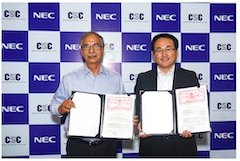 NEC and CSC e-Governance Services Form a Strategic Alliance to Deliver Innovative Digital Services for Rural Areas in India