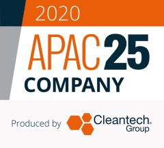 Cleantech Group Names TRENDE Inc. a 2020 APAC 25 Company
