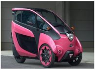 Toyota Adds Two-seater Model to i-Road Trials in Japan