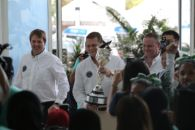 Arrival of Tour Trophy in Malaysia Sharpens Team Focus