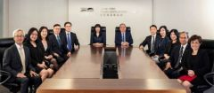 New Chairman of Hong Kong Trade Development Council Peter K N Lam Meets with Management Team