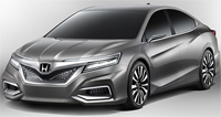 Honda Exhibits World Premiere of Two Honda Brand Concept Models at 2012 Beijing Motor Show