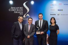 WeR1 client Grand Banks strikes Gold for Investor Relations at Singapore Corporate Awards