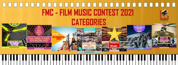 The FMC-Film Music Contest 2021 Revealed Competing Music Categories